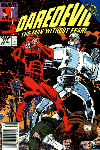 Cover for Daredevil (Marvel, 1964 series) #275 [Newsstand Edition]