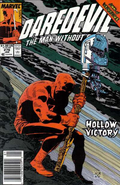 Cover for Daredevil (Marvel, 1964 series) #276 [Newsstand Edition]
