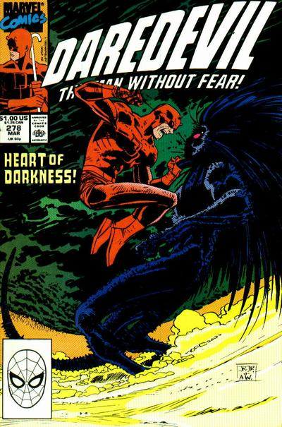 Cover for Daredevil (Marvel, 1964 series) #278 [Direct Edition]