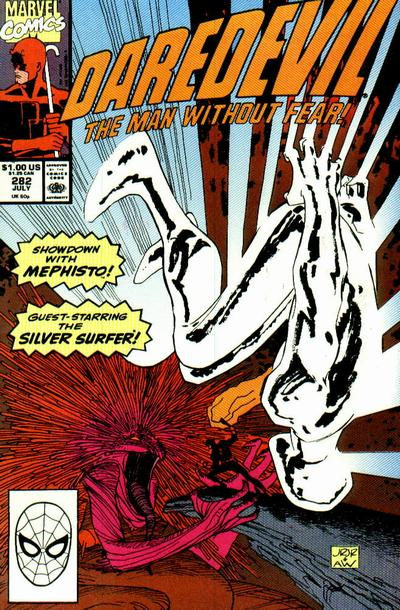Cover for Daredevil (Marvel, 1964 series) #282 [Direct Edition]