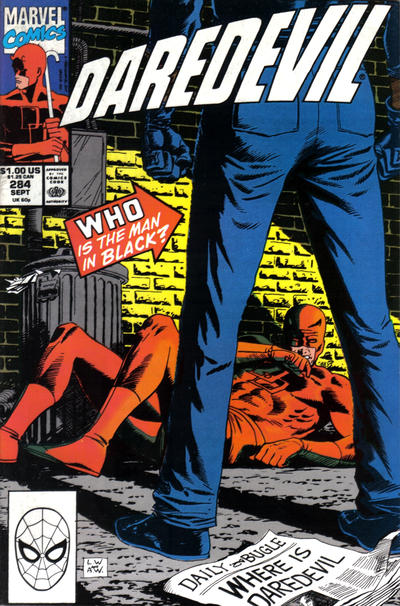 Cover for Daredevil (Marvel, 1964 series) #284 [Direct Edition]