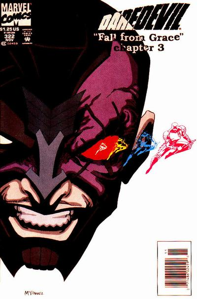 Cover for Daredevil (Marvel, 1964 series) #322 [Direct Edition]