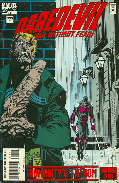 Cover for Daredevil (Marvel, 1964 series) #335 [Direct Edition]