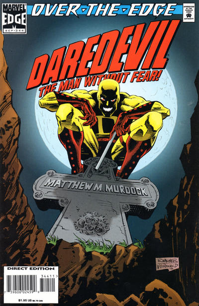Cover for Daredevil (Marvel, 1964 series) #344 [Direct Edition]