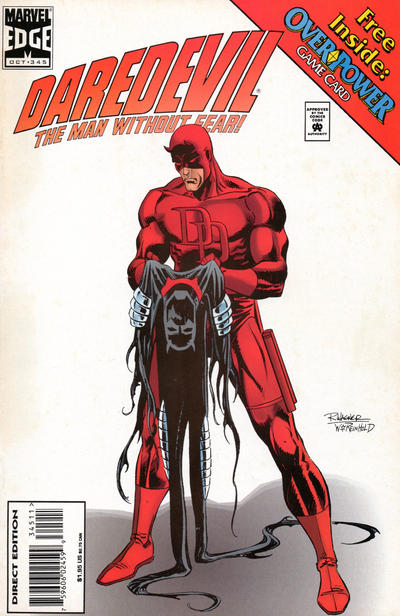 Cover for Daredevil (Marvel, 1964 series) #345 [Direct Edition]