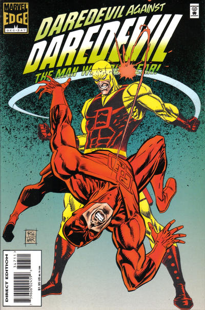 Cover for Daredevil (Marvel, 1964 series) #347 [Direct Edition]