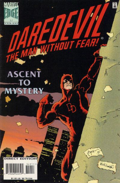 Cover for Daredevil (Marvel, 1964 series) #349 [Direct Edition]