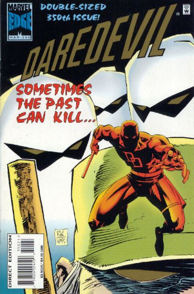 Cover for Daredevil (Marvel, 1964 series) #350 [Deluxe Direct Edition]