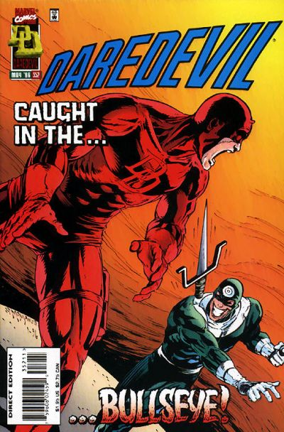 Cover for Daredevil (Marvel, 1964 series) #352 [Direct Edition]