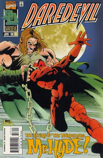 Cover for Daredevil (Marvel, 1964 series) #353 [Direct Edition]