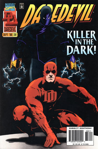 Cover for Daredevil (Marvel, 1964 series) #356 [Direct Edition]