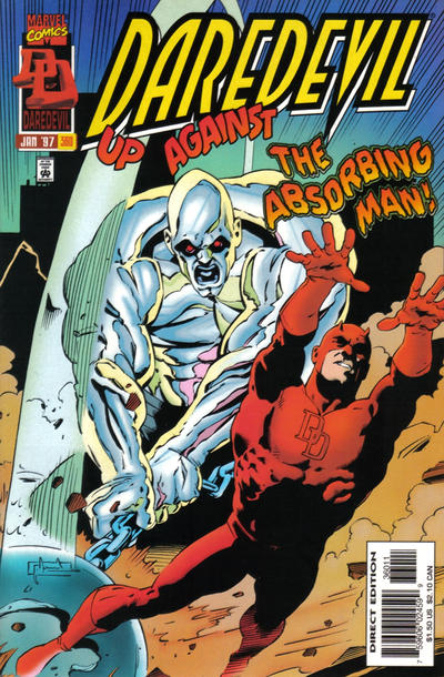 Cover for Daredevil (Marvel, 1964 series) #360 [Direct Edition]