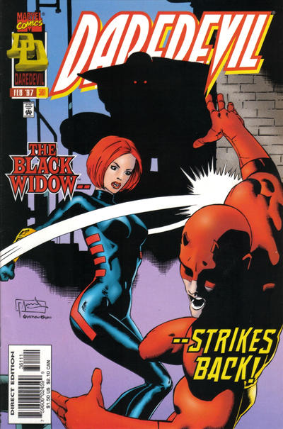 Cover for Daredevil (Marvel, 1964 series) #361 [Newsstand]