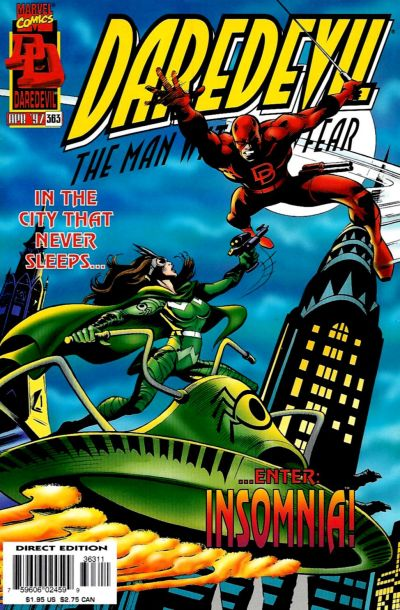 Cover for Daredevil (Marvel, 1964 series) #363 [Direct Edition]