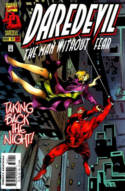 Cover for Daredevil (Marvel, 1964 series) #364 [Direct Edition]