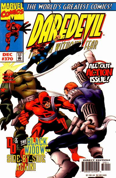 Cover for Daredevil (Marvel, 1964 series) #370 [Direct Edition]