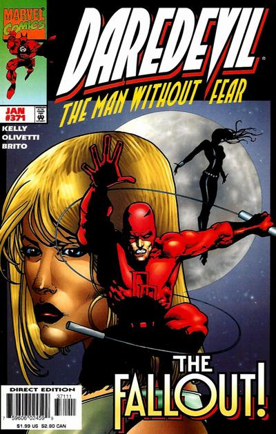 Cover for Daredevil (Marvel, 1964 series) #371 [Direct Edition]