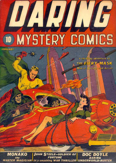 Cover for Daring Mystery Comics (Marvel, 1940 series) #1