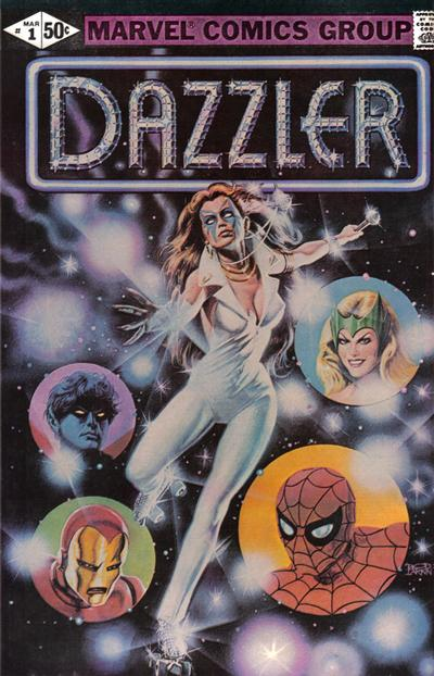 Cover for Dazzler (Marvel, 1981 series) #1