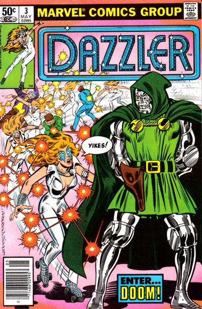 Cover for Dazzler (Marvel, 1981 series) #3 [Direct]
