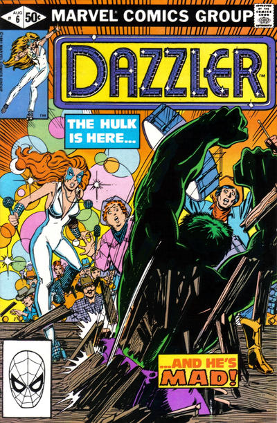 Cover for Dazzler (Marvel, 1981 series) #6 [Direct Edition]