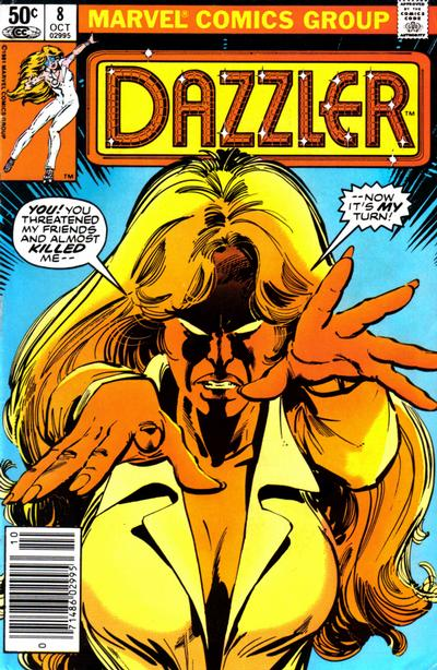Cover for Dazzler (Marvel, 1981 series) #8 [Direct Edition]