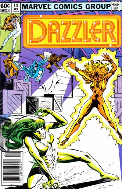 Cover for Dazzler (Marvel, 1981 series) #14 [Newsstand Edition]