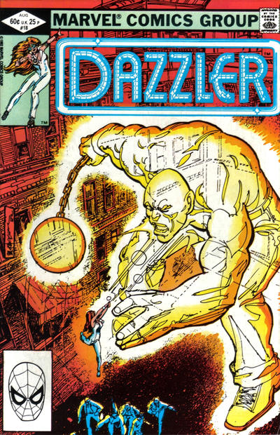 Cover for Dazzler (Marvel, 1981 series) #18 [Direct Edition]