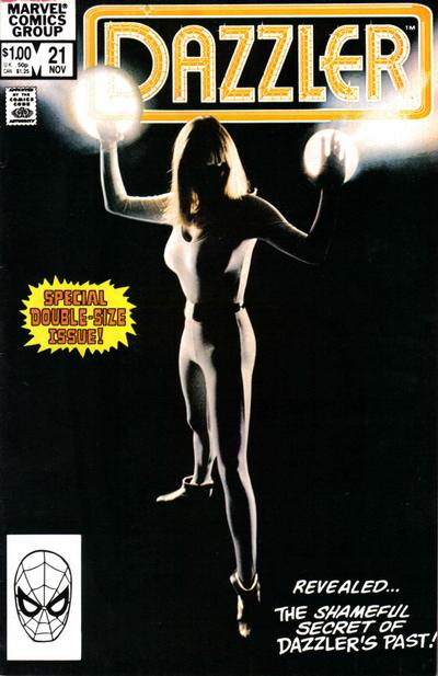 Cover for Dazzler (Marvel, 1981 series) #21 [Newsstand Edition]