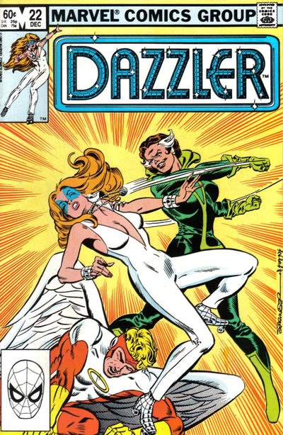 Cover for Dazzler (Marvel, 1981 series) #22 [Direct]