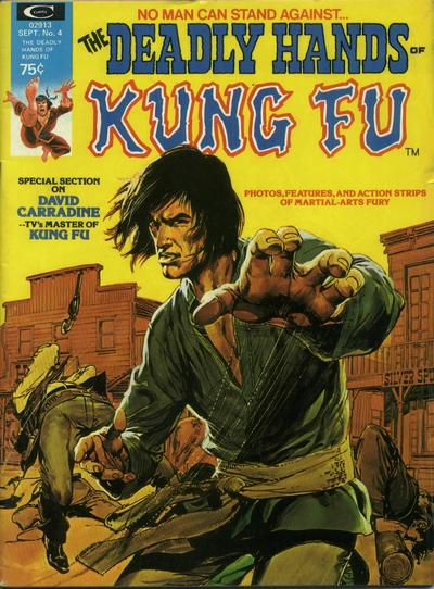 Cover for The Deadly Hands of Kung Fu (Marvel, 1974 series) #4