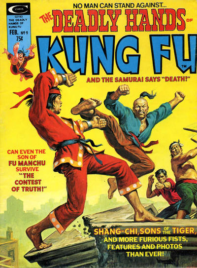 Cover for The Deadly Hands of Kung Fu (Marvel, 1974 series) #9