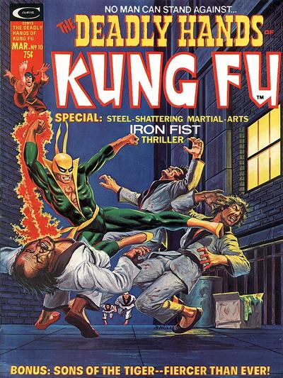 Cover for The Deadly Hands of Kung Fu (Marvel, 1974 series) #10