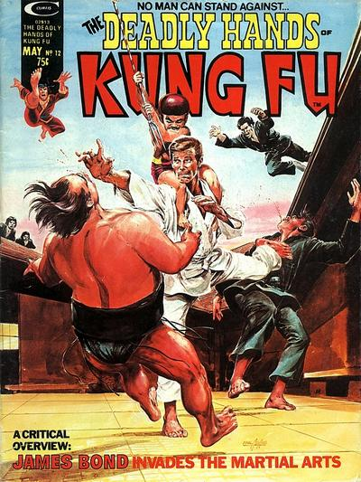 Cover for The Deadly Hands of Kung Fu (Marvel, 1974 series) #12