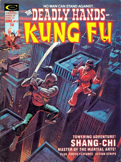 Cover for The Deadly Hands of Kung Fu (Marvel, 1974 series) #13
