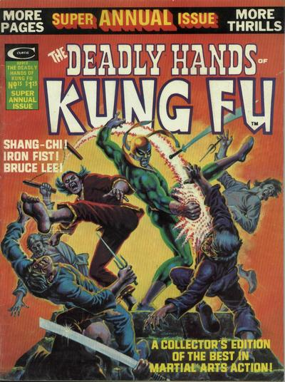 Cover for The Deadly Hands of Kung Fu (Marvel, 1974 series) #15