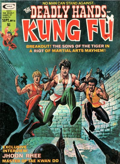 Cover for The Deadly Hands of Kung Fu (Marvel, 1974 series) #16