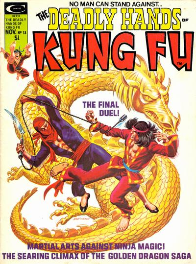 Cover for The Deadly Hands of Kung Fu (Marvel, 1974 series) #18