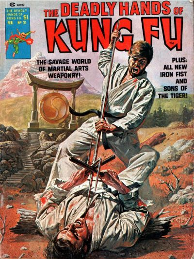 Cover for The Deadly Hands of Kung Fu (Marvel, 1974 series) #21