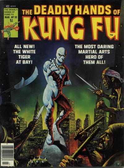 Cover for The Deadly Hands of Kung Fu (Marvel, 1974 series) #22