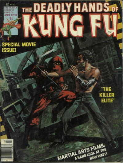 Cover for The Deadly Hands of Kung Fu (Marvel, 1974 series) #23