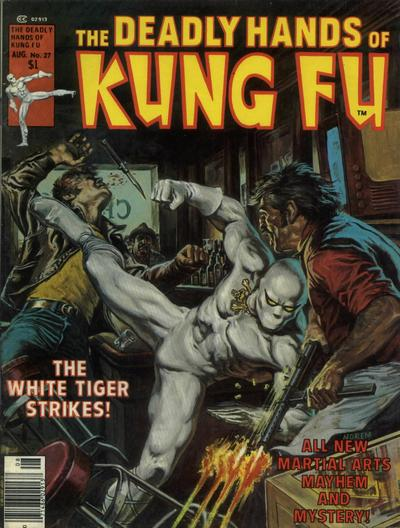 Cover for The Deadly Hands of Kung Fu (Marvel, 1974 series) #27