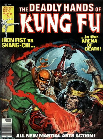 Cover for The Deadly Hands of Kung Fu (Marvel, 1974 series) #29