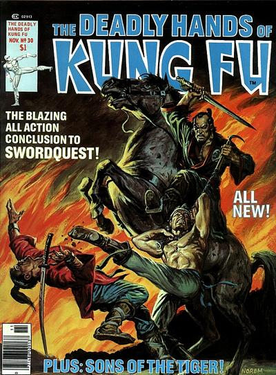 Cover for The Deadly Hands of Kung Fu (Marvel, 1974 series) #30