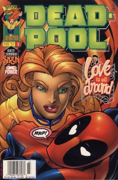 Cover for Deadpool (Marvel, 1997 series) #3 [Direct Edition]