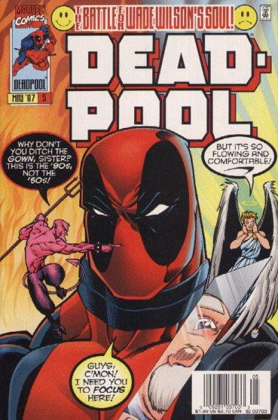 Cover for Deadpool (Marvel, 1997 series) #5 [Direct Edition]