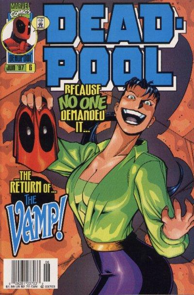 Cover for Deadpool (Marvel, 1997 series) #6 [Newsstand]