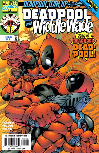 Cover for Deadpool Team-Up (Marvel, 1998 series) #1
