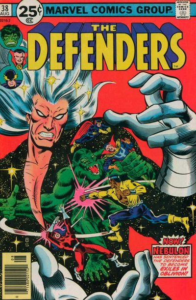 Cover for The Defenders (Marvel, 1972 series) #38 [30¢]