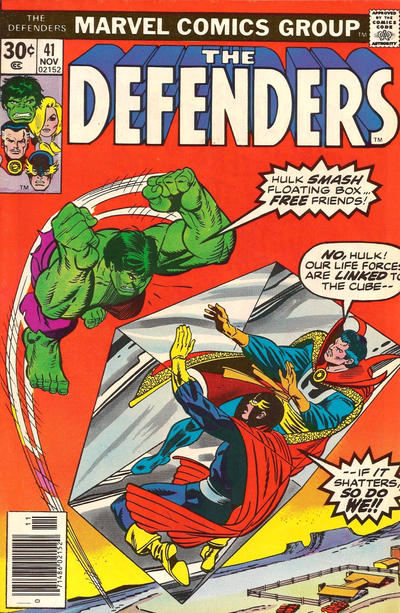 Cover for The Defenders (Marvel, 1972 series) #41 [Regular Edition]